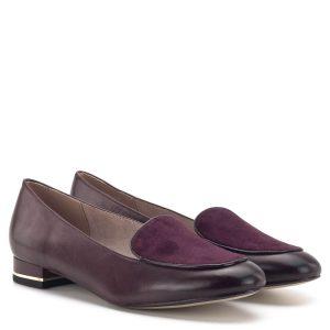 Tamaris cipő - Elegáns Tamaris női cipő bordó színben, kis sarokkal. A cipő sarkában arany fém díszcsík fut. Anyaga bőr, elején velúr bőr anyagból készült. A memóriahabos Touch It talpbélés felel az egész napos kényelemért - Tamaris 1-24201-33 537