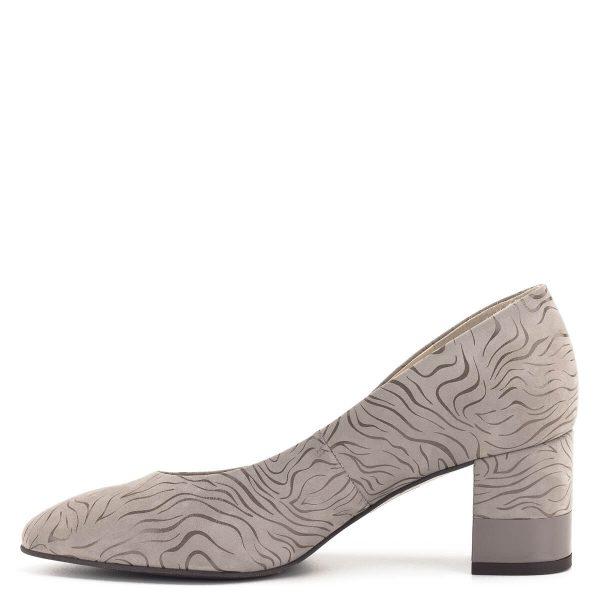 Kávé színű közepes sarkú Anis női cipő