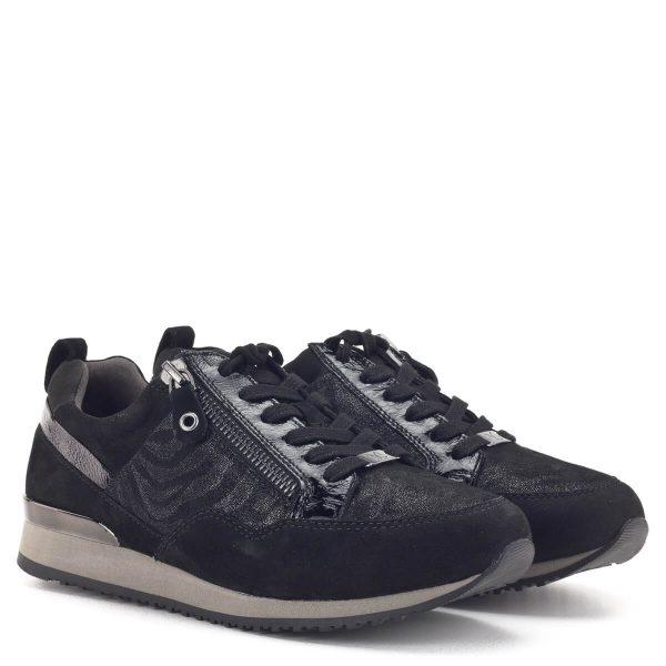 Caprice női sneaker fekete színben