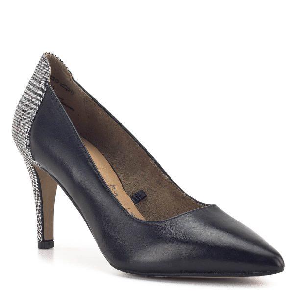 Tamaris körömcipő - Fekete Tamaris magassarkú cipő