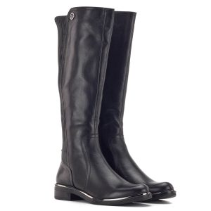 Fekete Caprice csizma elasztikus betéttel - Caprice 9-25509-23 022