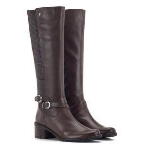 Caprice csizma, elasztikus betéttel, barna szín - Caprice 9-25515-23 337