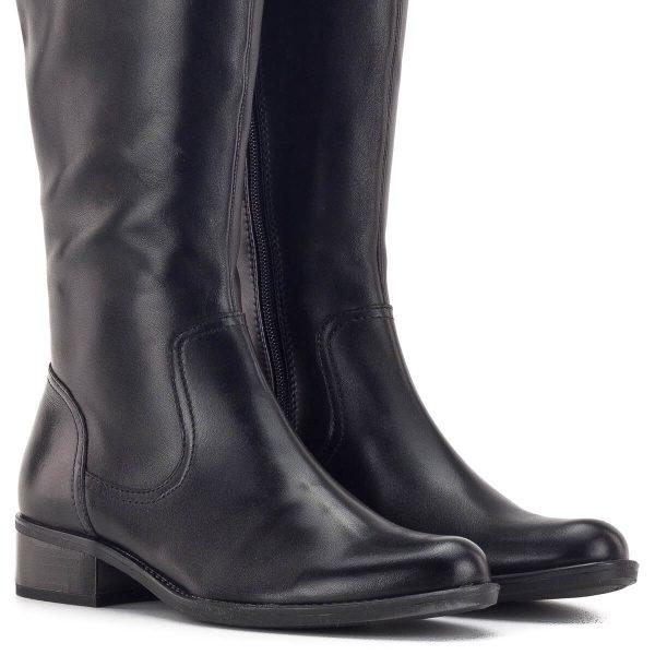 Caprice lovaglócsizma bőrből, plüss béléssel - Caprice 9-25522-23 022