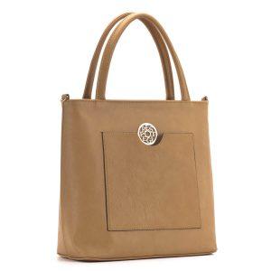 Mustársárga Prestige táska - Kézitáskaként és válltáskaként is viselhető