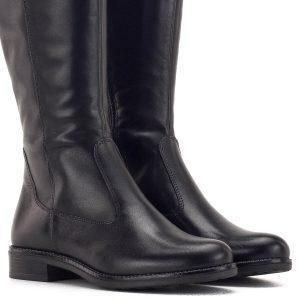 Tamaris csizma fekete színben, díszítés nélkül - Tamaris 1-25542-23 001