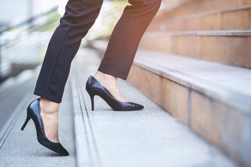Cipőválasztási tippek irodai környezetbe nőknek. Elegáns és kényelmes cipőben hétköznap is.