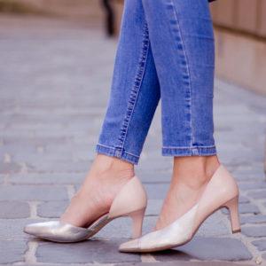 Tamaris női cipő, belső oldalán nyitott - Tamaris 1-22442-24 645