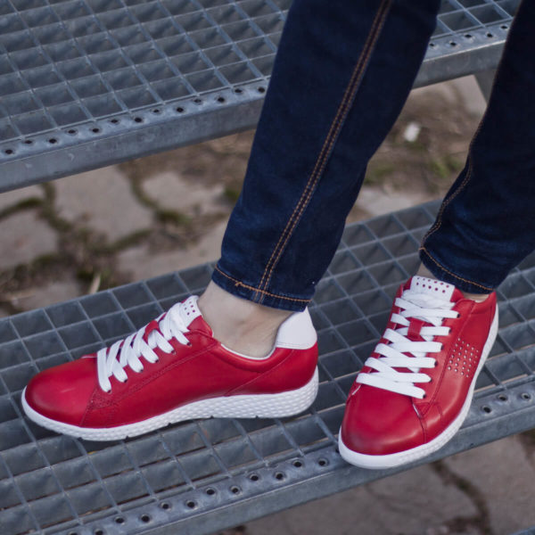 Marco Tozzi fűzős sportcipő piros színben - Marco Tozzi 2-23766-24 531 10