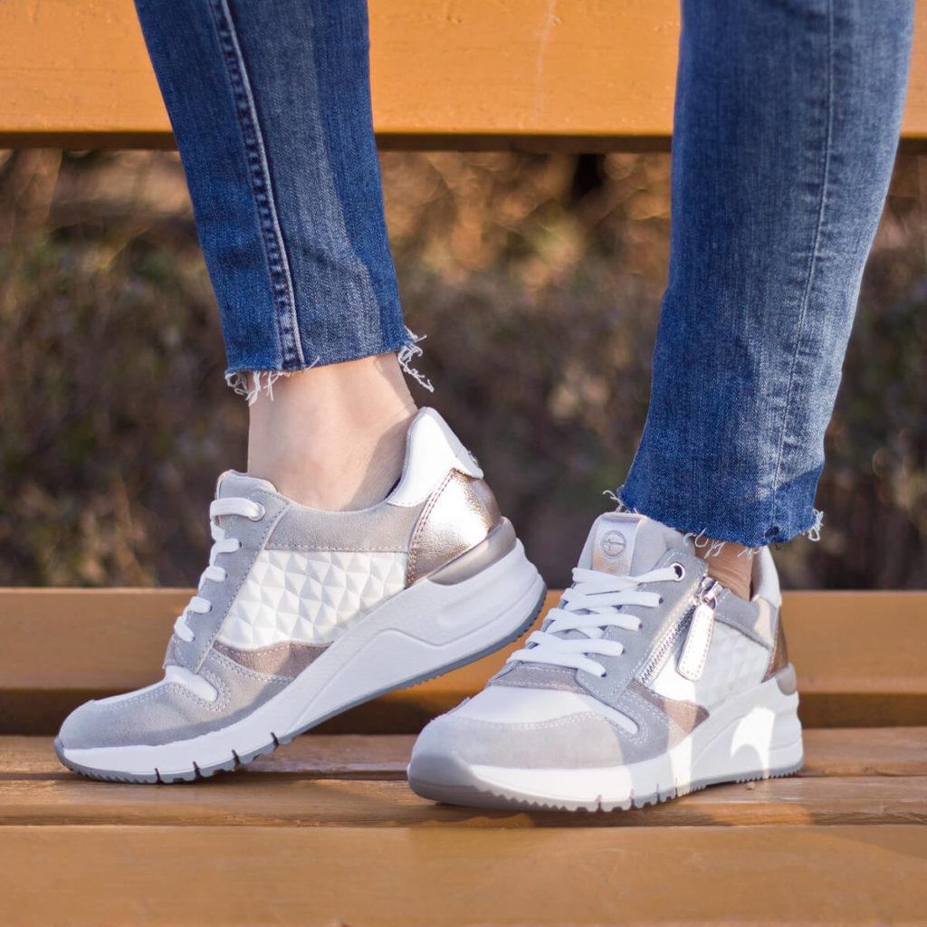 Tamaris sneakers cipő kombinált színben - Tamaris 1-23702-24 197 1