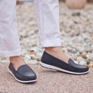 Marco Tozzi mokaszin cipő sötétkék színben - Marco Tozzi 2-24600-34 805 1