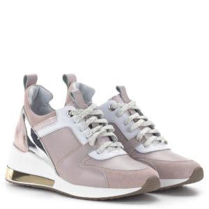 Carla Ricci női sneakers cipő platformos talppal, rózsaszín 1
