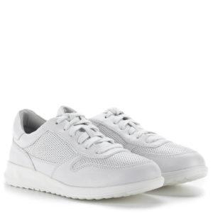 Tamaris fűzős sportcipő fehér színben - Tamaris 1-23625-24 100 1