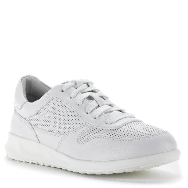 Tamaris fűzős sportcipő fehér színben - Tamaris 1-23625-24 100 2