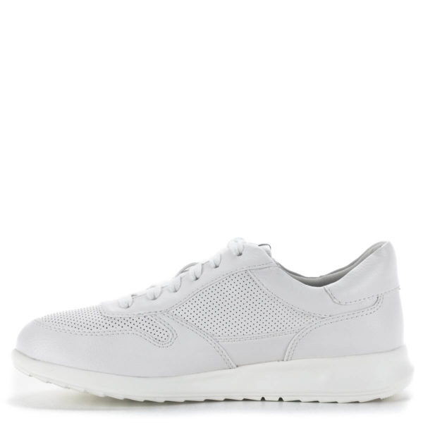 Tamaris fűzős sportcipő fehér színben - Tamaris 1-23625-24 100 4