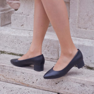 Kis sarkú alkalmi cipő AntiShokk sarokkal, Tamaris - 1-22300-24 001 10