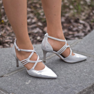 Tamaris szandálcipő 7,5 cm sarokkal, elegáns pántokkal - Tamaris 1-24440-24 941 10