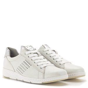 Marco Tozzi fehér-ezüst fűzős sportcipő - Marco Tozzi 2-23766-24 191 1