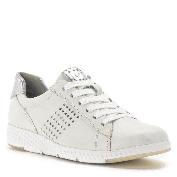Marco Tozzi fehér-ezüst fűzős sportcipő - Marco Tozzi 2-23766-24 191 2