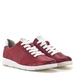 Marco Tozzi fűzős sportcipő piros színben - Marco Tozzi 2-23766-24 531 1