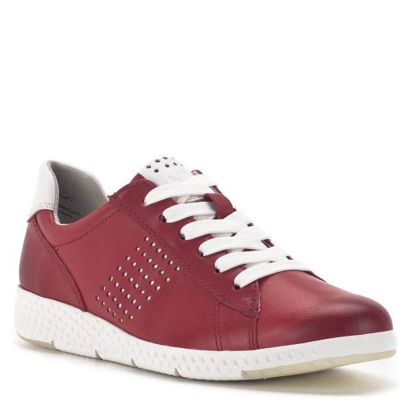 Marco Tozzi fűzős sportcipő piros színben - Marco Tozzi 2-23766-24 531 2