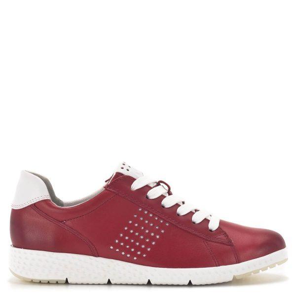 Marco Tozzi fűzős sportcipő piros színben - Marco Tozzi 2-23766-24 531 3