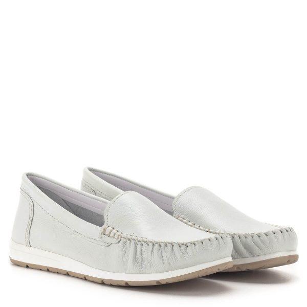 Marco Tozzi mokaszin cipő fehér színben - Marco Tozzi 2-24600-34 100 1