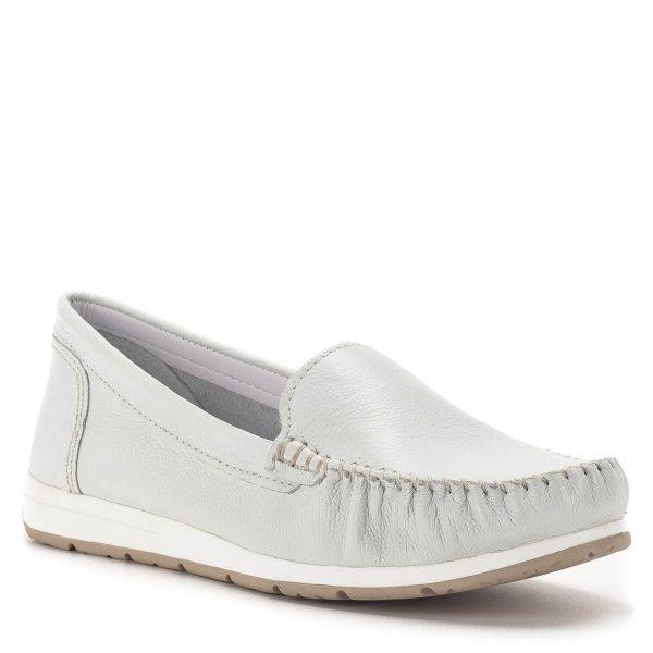 Marco Tozzi mokaszin cipő fehér színben - Marco Tozzi 2-24600-34 100 2
