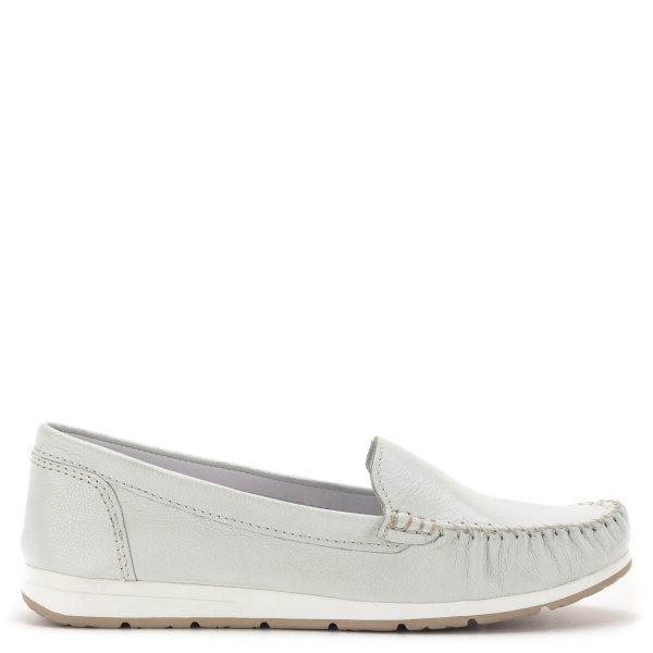 Marco Tozzi mokaszin cipő fehér színben - Marco Tozzi 2-24600-34 100 3