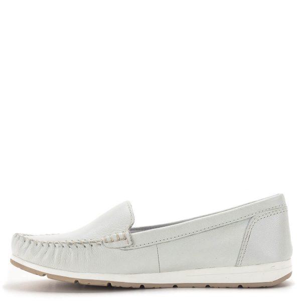 Marco Tozzi mokaszin cipő fehér színben - Marco Tozzi 2-24600-34 100 4