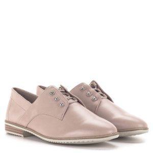 Púder színű Tamaris belebújós cipő, Touch It - Tamaris 1-23201-24 521 1