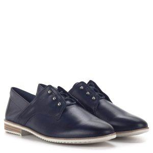 Sötétkék Tamaris belebújós cipő, Touch It - Tamaris 1-23201-24 840 1