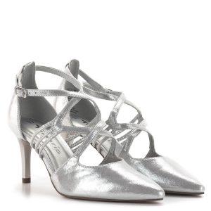 Tamaris szandálcipő 7,5 cm sarokkal, elegáns pántokkal - Tamaris 1-24440-24 941 1