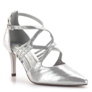 Tamaris szandálcipő 7,5 cm sarokkal, elegáns pántokkal - Tamaris 1-24440-24 941 2