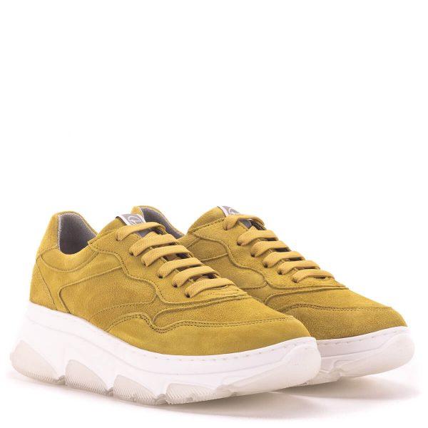 Sárga Tamaris sneakers vastag gumi talppal - Tamaris 1-23772-24 602 1