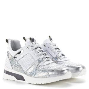 Carla Ricci fehér színű fűzős női sneakers cipő lapos talppal 1