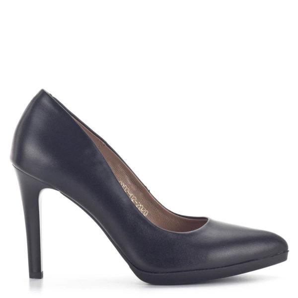 Carla Ricci platformos női magassarkú cipő fekete színben 3