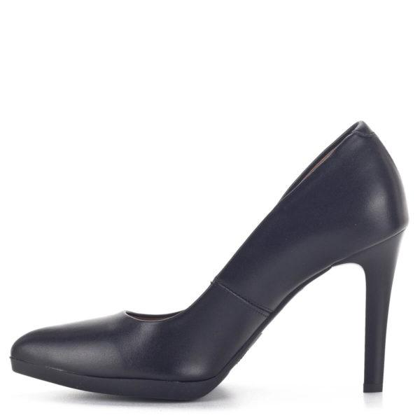 Carla Ricci platformos női magassarkú cipő fekete színben 4