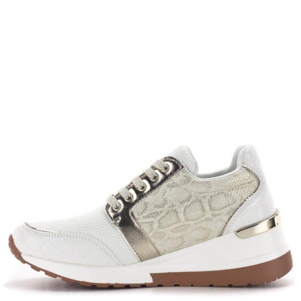 Menbur platformos sneakers fehér-arany színben 4