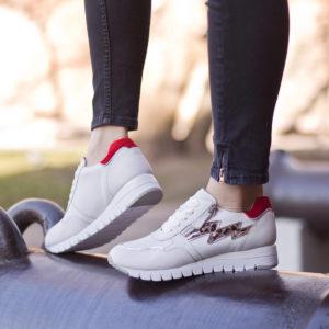 Caprice női sneakers cipő fehér színben - Caprice 9-23700-24 197 10
