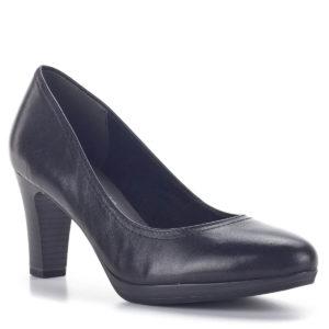 Tamaris fekete magassarkú cipő, AntiShokk - Tamaris 1-22410-27 001