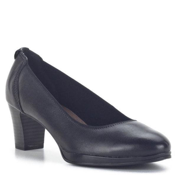 Fekete Tamaris magassarkú cipő, ANTIShokk, Touch It - Tamaris 1-22446-25 001