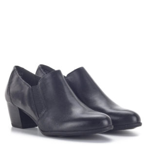 Zárt Tamaris női cipő fekete színben ANTIShokk sarokkal - Tamaris 1-24400-25 001